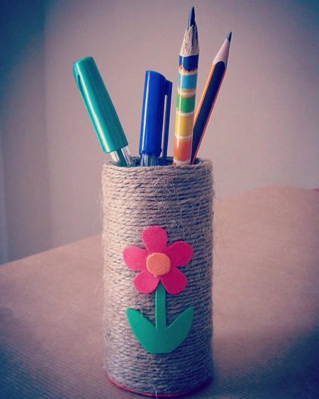 DIY: Pencil holder
